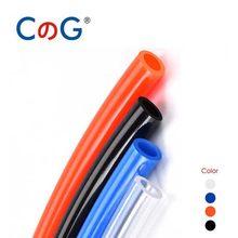 1 Meter OD 8x5mm 12x8 10x6.5mm 6x4 4x2.5mm Hose Pipe Air Tube Gas Pneumatic Tubing PU Plastic Pipe Compressor Hose Trachea