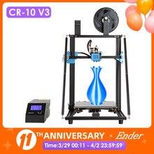 CR-10 V3 3D Imprimante Taille 300*300*400mm,TMC2208 Silencieux Carte Mère Reprendre L'impression, E3D Titan À Entraînement Direct Extrudeuse