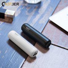 CASEIER 3350MAh Mini Power Bank For Xiaomi USB Portable Char