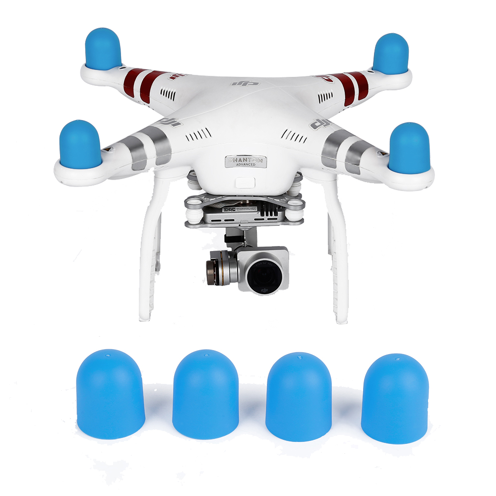 4pcs Engine Dust-proof Drone Motor Cap Protective Cover For DJI Phantom 2 Pro 4A 3A 3P 3S SE 4 Silicone Case Guard Accessories