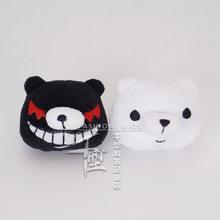 Jiangdao escudo cosplay hairpin cabeleireiro tiara preto e branco urso projétil teoria quebrado cos acessórios