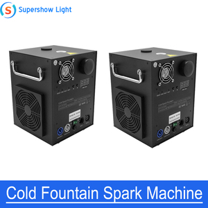 2pcs/lot 650W Remote/DMX Control Cold Spark fireworks Sparklers Machine Out/Indoor Wedding Celebration Party(China)