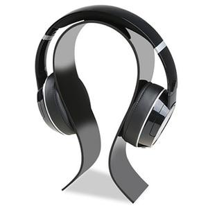 Image 1 - New Fashion Simple Gaming Cradle Acrylic Headset Stand Multifunctional Headphone Holder Bracket Display For Headphone