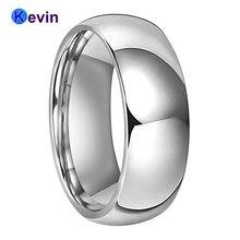 Классическое свадебное кольцо для мужчин и женщин мужское из