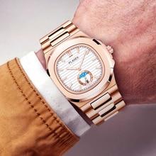 Elegante Patek Horloge Nieuwste Promotie Explosie Modellen Quartz Horloge Zakelijke Buitenlandse Handel Hot Man Horloge Voor Kerst Cadeau