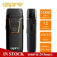 Sigaretta elettronica Aspire Nautilus AIO vape kit 4.5ml Serbatoio Atomizzatore Pod Fit Nautilus 1.8ohm BVC Bobina Built-In 1000mAh batteria