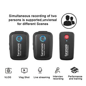 Image 4 - Boya Saramonic Blink 500 Blink500 B1 B2 B3/4/5  Wireless Lavalier Lapel Microphone Studio Condenser Interview Mic for Phone DSLR