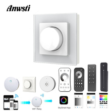 220V LED Dimmer Triac 230V 110V AC Wireless RF 2.4G Remote Dimmable Knob Light Switch Smart Wifi Controller for Lamps