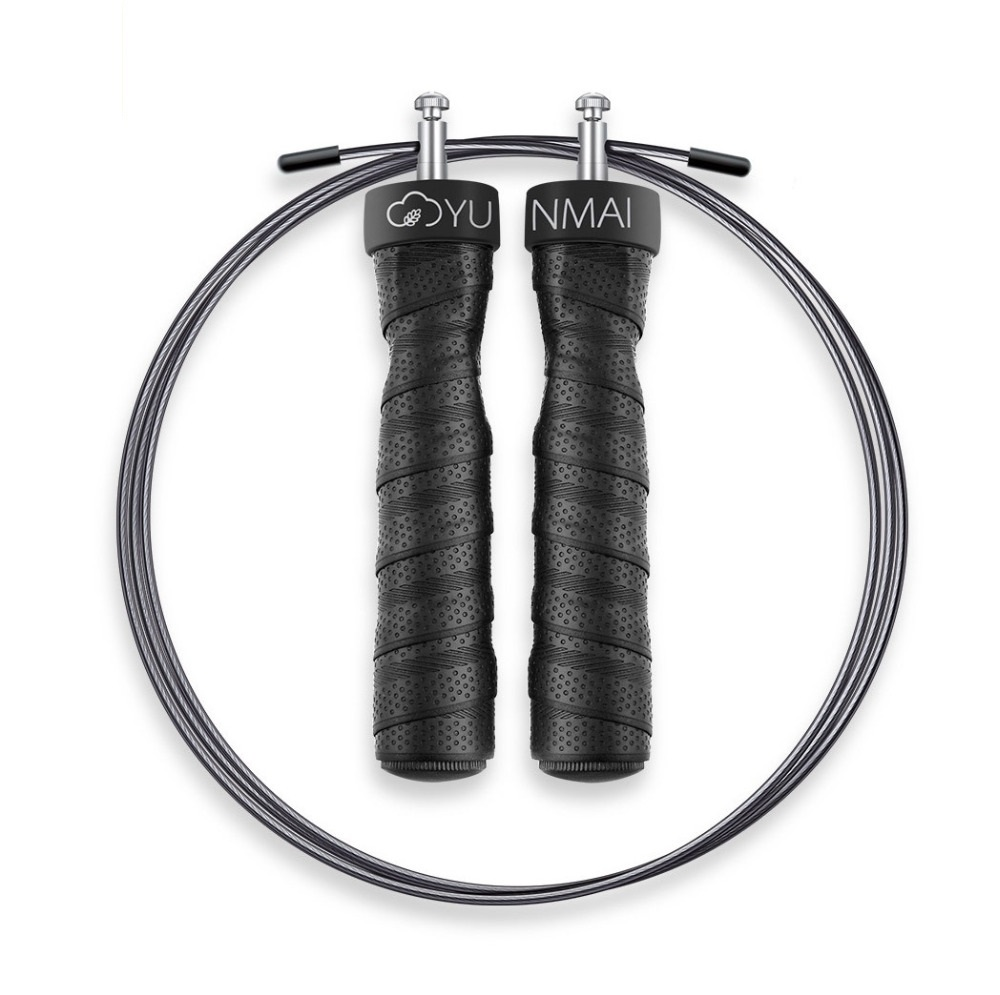 New Youpin Sport Jump Rope One-piece Bearing,Double Wire Rope Heavy Metal Block Male Female Fitness Weight Loss Exercise