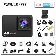 "F88 EIS Anti shake Action Camera Ultra HD 4K / 60fps WiFi 2.0"" 170D Underwater Waterproof Cam Helmet Vedio Go Sport Pro Came"