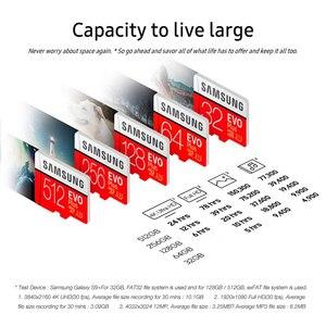 Image 4 - 100% Original SAMSUNG micro sd 128gb EVO Plus Class10 U1 32GB 64GB U3 256GB  516GB memory Card MicroSD  for Smartphone TabletPC