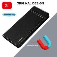 Di lusso Genuino Custodia In Pelle Per Samsung Galaxy Note 8 9 10 S8 S9 S10 S20 Plus. E Del Telefono Antiurto 360 casi Della Copertura di Vibrazione di protezione