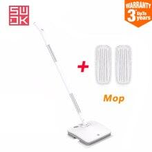 Oryginalny MIJIA SWDK D260 ręczny elektryczny Mop do podłogi dla domu bezprzewodowe wycieraczki na okno sięgające podłogi mokre miotła odkurzacz