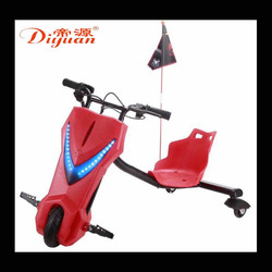 2017 New Style Electric Children 24V Tricycle Drift Car 360 Rotating Square Rental Karting Source Manufacturers