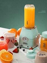 220V 300w 500ml+600ml Electric Portable orange Juicer Double cup blender kitchen appliances Food grade material 13x27cm