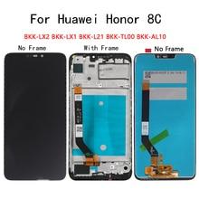 "6.26 ""AAA עבור Huawei Honor 8C LCD תצוגת מסך מגע digitizer הרכבה BKK LX2 BKK LX1 BKK L21 BKK TL00 BKK AL10 החלפה"