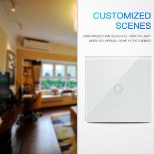 Image 4 - NEO Coolcam 5A واي فاي 1CH الجدار مفتاح الإضاءة لوحة زجاجية تعمل باللمس مع أليكسا جوجل المنزل IFTTT