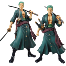 Anime Figure One Piece Japanese Anime Action Figure Toys Zoro Toy Action Figures One Piece Figure Anime Zoro Change Faces Looks