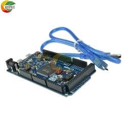 Из-за R3 доска SAM3X8E 32-битный ARM Cortex-M3 Управление плата Модуль гибкий кабель с Micro USB кабель для Arduino UNO/DC 3,3-5V