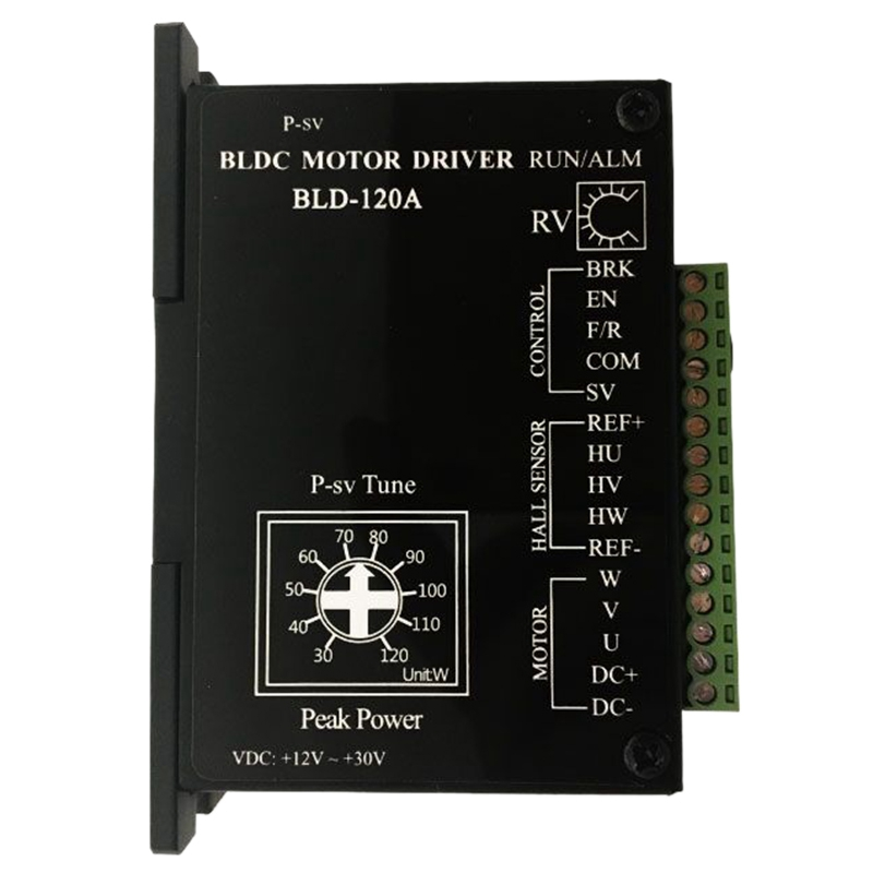 Brushless DC Motor Driver BLDC Controller BLD-120A for 120W or Less 42 Brushless Motor