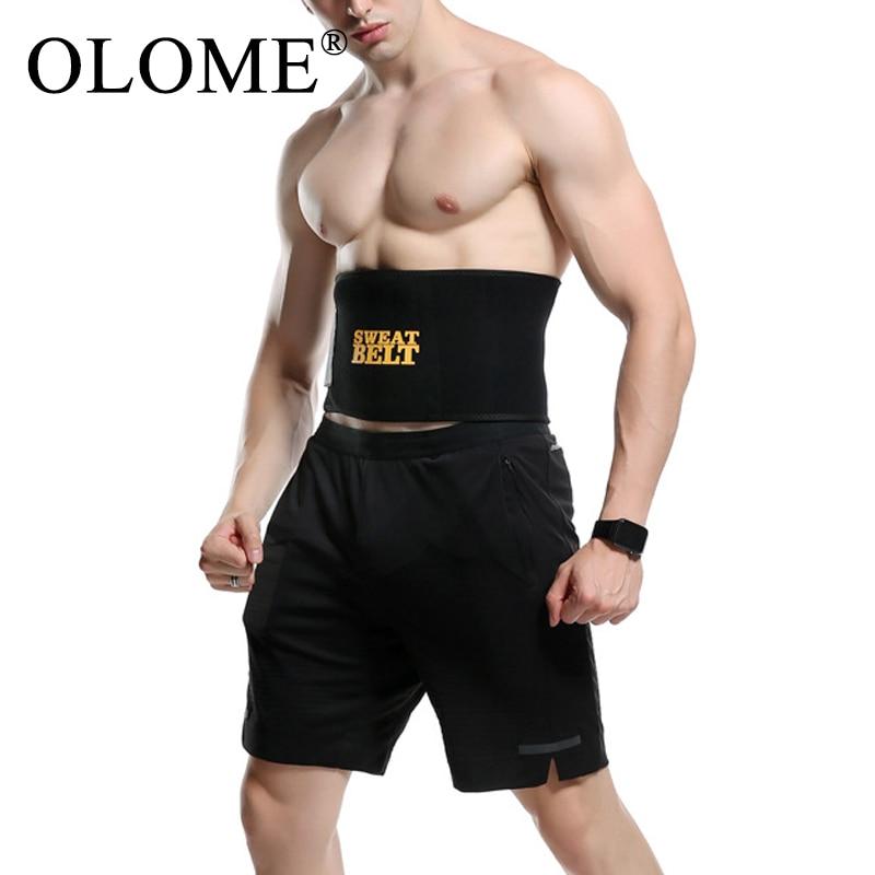 Men Waist Trainer  Neoprene Slimming Belt  Shaper Tummy Reducing Belts Body Shapers Sweat Shapewear Modeling Strip