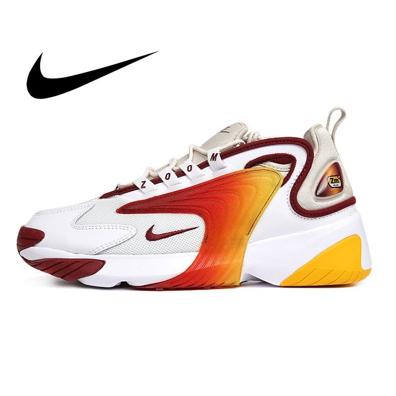 Mega Sale Nike Zoom 2K WMNS Original Mens Running Shoes Shock Absorption Outdoor Sneakers Retro Non slip Athletic Designer Footwear AO0269 February