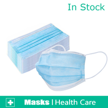 30 60 120 150 180 360 Pcs Quality  3 ply Anti bacterial  masks Earloop Face Mouth Masks 3 layer masks