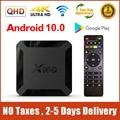 ТВ-приставка X96Q, Android 10, QHD, 4K, Smart TV, 1 ГБ, 8 ГБ, 2 ГБ, 16 ГБ, Allwinner H313, Android 10,0, ТВ-приставка 2,4G, Wi-Fi, X96 Q, телеприставка