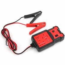 12 12v車のバッテリーチェッカー電子リレーテスタークリップ自動リレー診断ツール