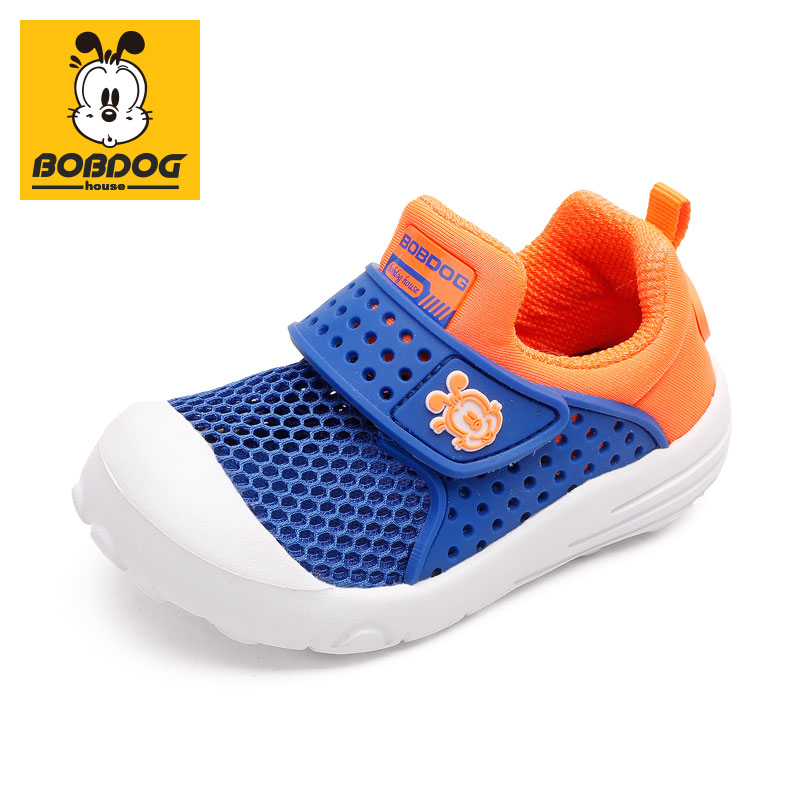 BOBDOG House Children's Shoes Summer New Hollow Out Children's Sports Shoes