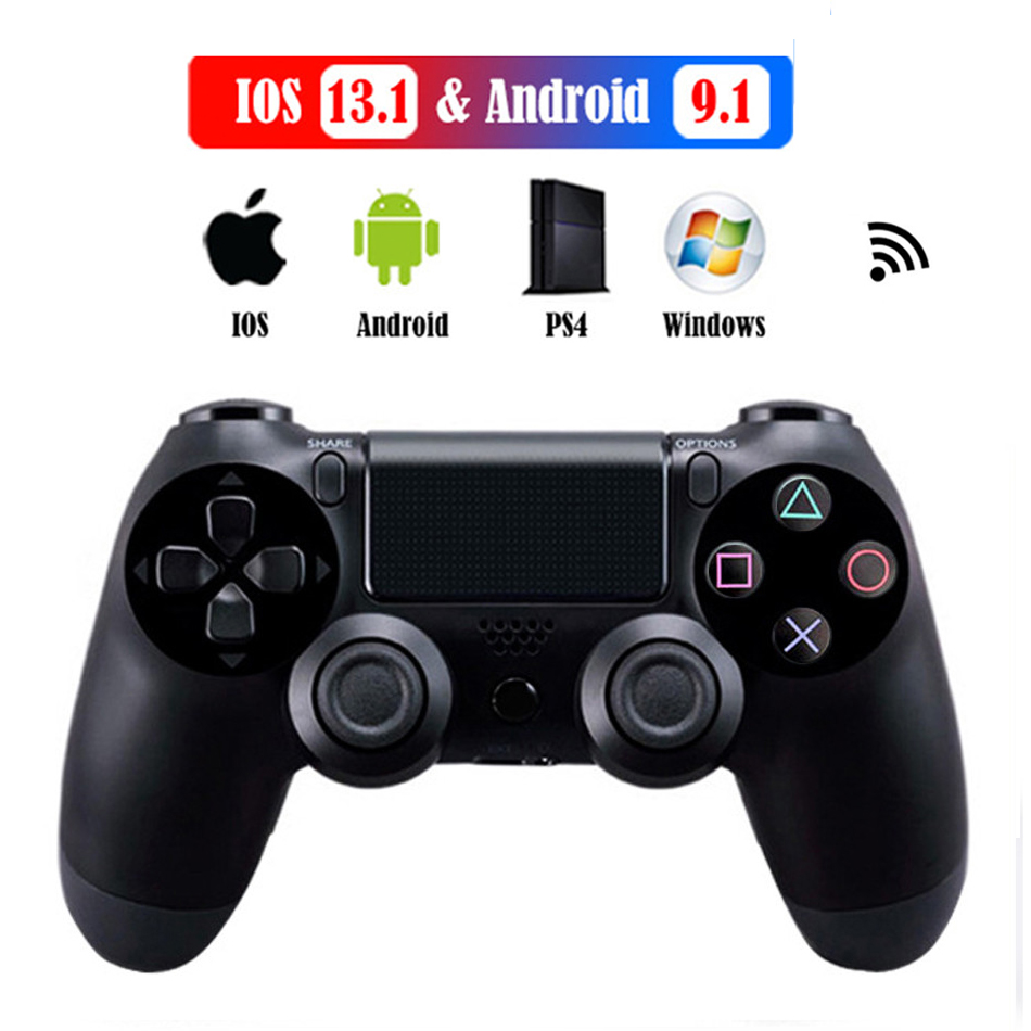 Controller For PS4 Pro / PC / iPhone & Android Mobile Phone, Wireless Bluetooth For SONY Playstation 4 Dualshock ps4 controller