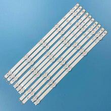 Striscia di Retroilluminazione A LED 10 lampada Per LG 6916L 1214A 6916L 1215A 6916L 1216A 6916L 1217A 42LN5406 42LA6200 42LN6150 42LN5758 42LN5204