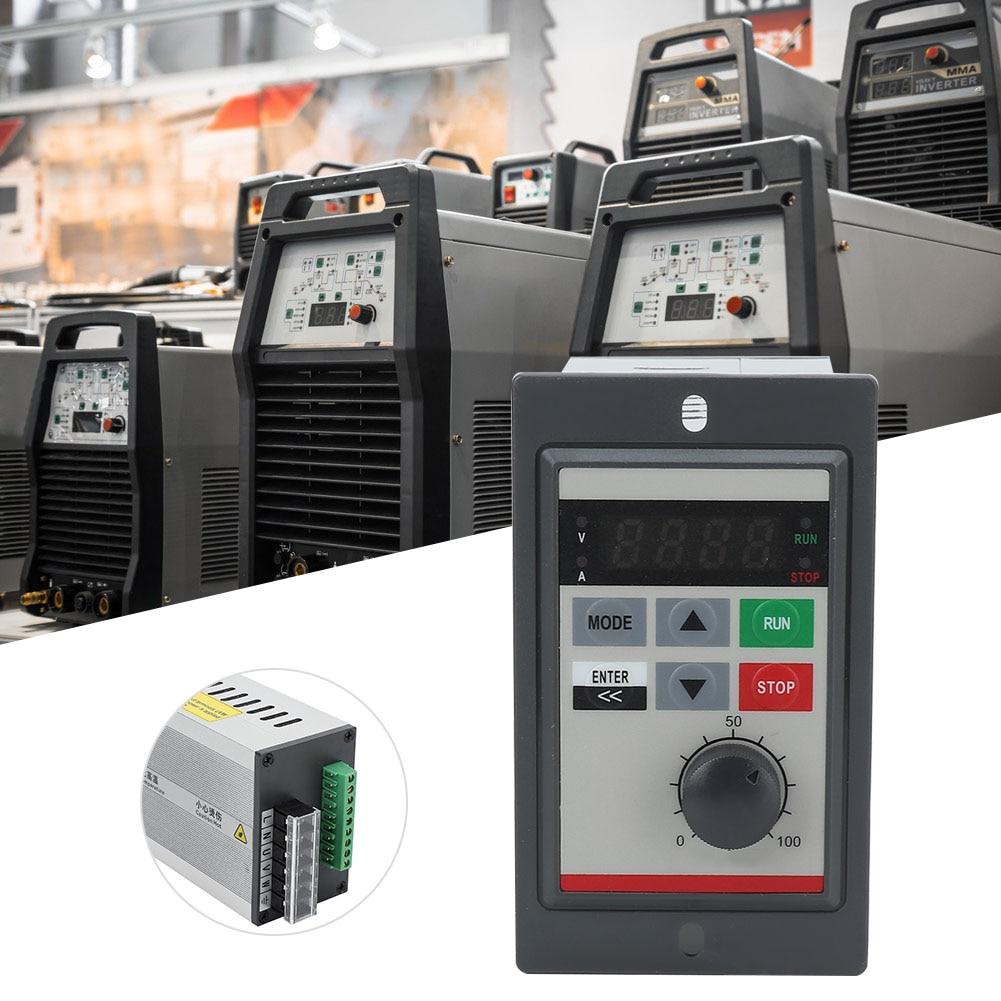 Частотный инвертор VFD маленький 0,75 кВт 220 В светодиодный дисплей однофазный микрочастотный преобразователь для скорости двигателя контрольный преобразователь|Инверторы и конвертеры|   | АлиЭкспресс