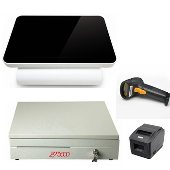 New model 12 inch all in one touchscreen pos system for restaurant
