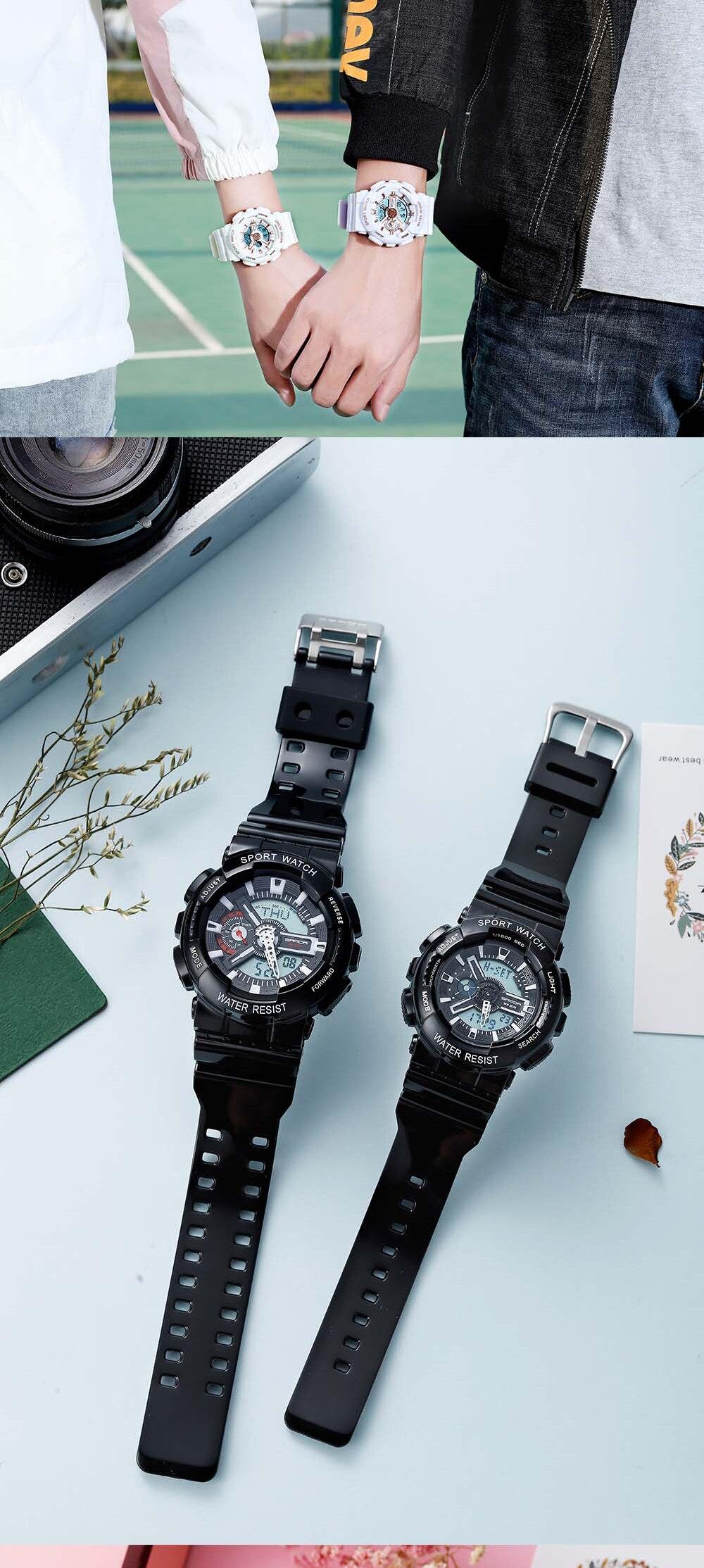 H367bba10482543b698e91319d0d70913b 2020 SANDA Military Men's Watch Brand Luxury Waterproof Sport Wristwatch Fashion Quartz Clock Couple Watch relogio masculino