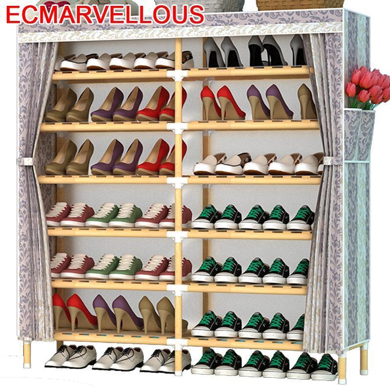 Schoenenkast Home Furniture font b Closet b font Per La Casa Mobili Zapatera Ayakkabilik Armario Mueble