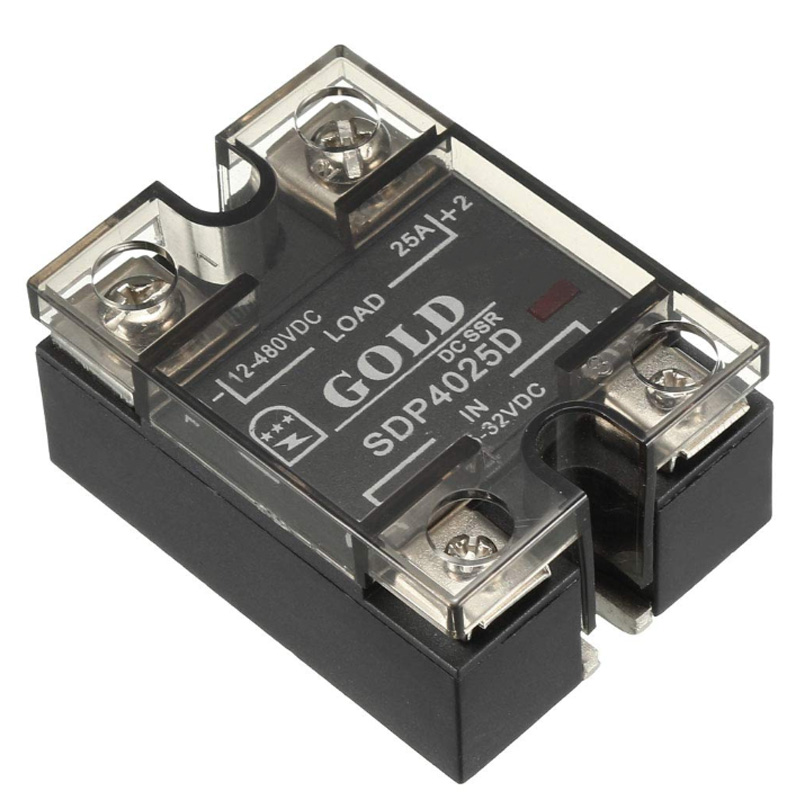 SDP4025D 3.5-32V To 12-480V 25A Single Phase Solid State Relay Module