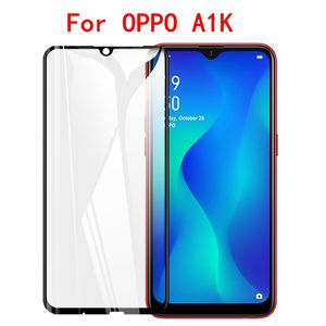 Image 2 - 3D מלא דבק מזג זכוכית עבור Oppo A1K Oppo Realme 3 מלא מסך כיסוי מסך מגן סרט עבור Oppo Realme c1 C2