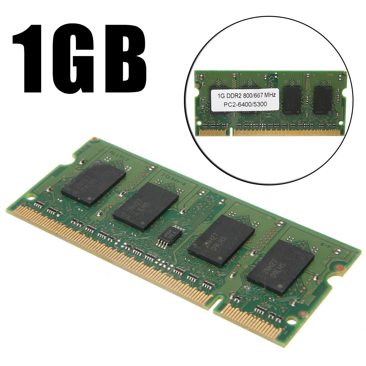 1GB DDR2 667MHz PC2 5300 Laptop PC DIMM 200-Pin NON ECC Memory RAM
