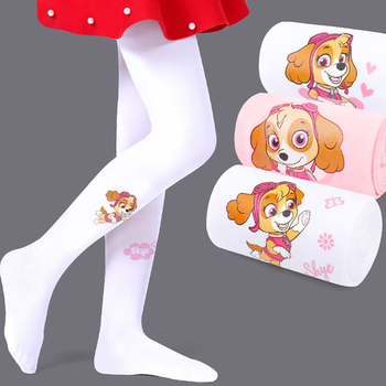 Summer Ballet Tights for Girls Cute Cartoon Dog Children Pantyhose Highly Elastic Kids Stockings Pink Baby 2pcs - discount item  30% OFF Children's Clothing