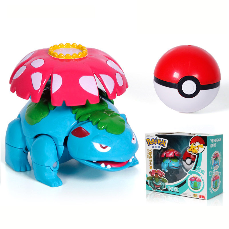 Ball Pokemon Transforming Toys 3