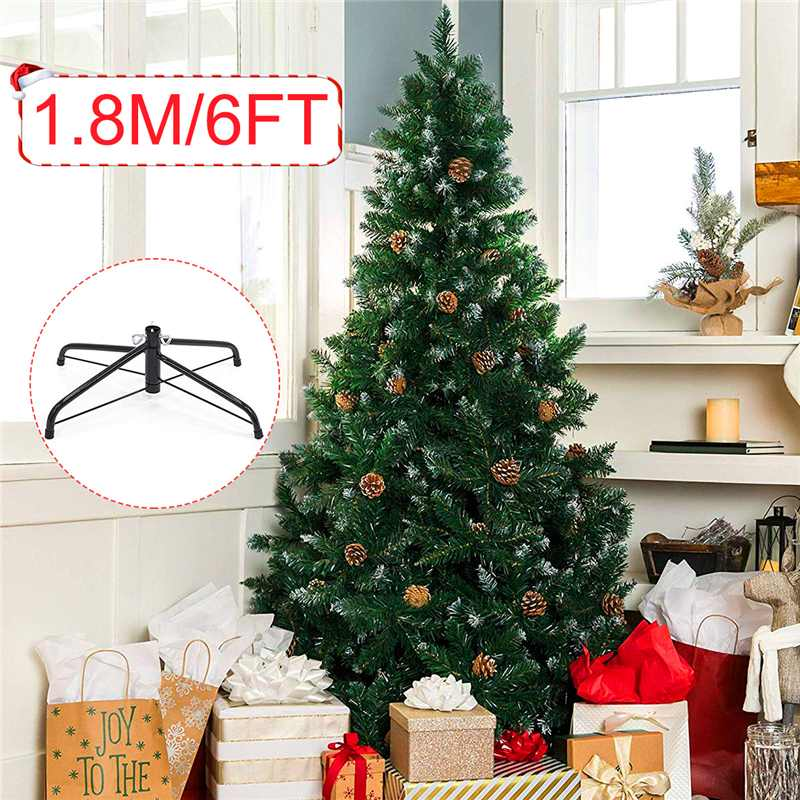 1.8M/6FT DIY Christmas Tree New Year Gift Flocking Christmas Tree With Pine Cones Snowflake Tree Christmas Family Hotel Decor