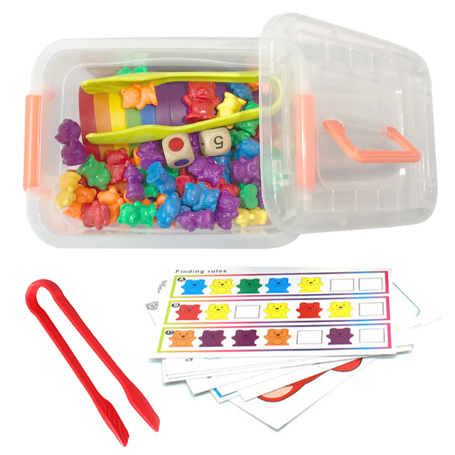 Rainbow Bears for Counting, Sorting, Matching and More
