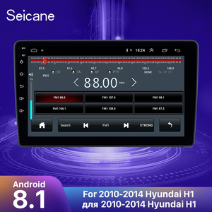 Image 1 - Seicane Android 8.1 9 inch Car Radio Multimedia Player For 2010 2011 2012 2013 2014 Hyundai H1 2din Stereo wifi GPS Navigation