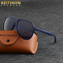 KEITHION Sunglasses Unisex Round Vintage Sun Glasses Famous Brand Sunglases polarized Sunglasses retro Feminino For Women Men(China)