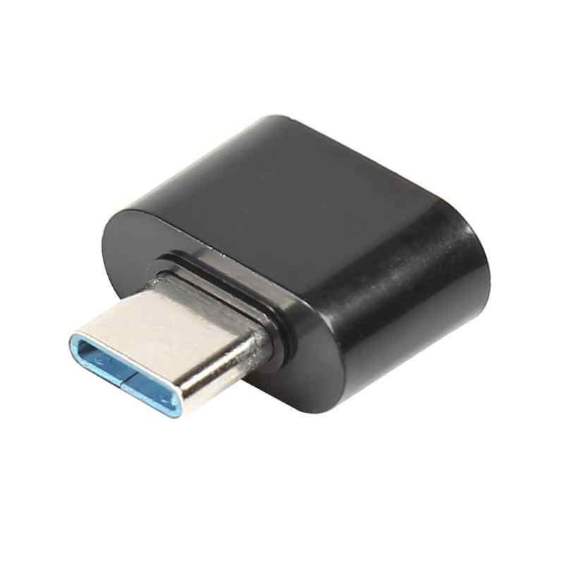 VODOOL سيارة جو مصباح DJ الموسيقى المرحلة تأثير ضوء USB محول ل البرق/المصغّر USB/نوع C السيارات ضوء USB مقبس محول