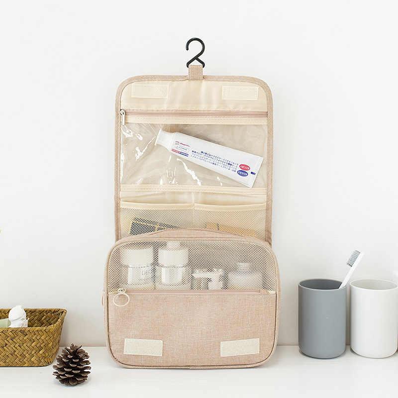 À prova dwaterproof água roupas sutiã sapato guarda-roupa organizador portátil lavagem de higiene pessoal bolsa viagem mochila mala de armazenamento acessórios