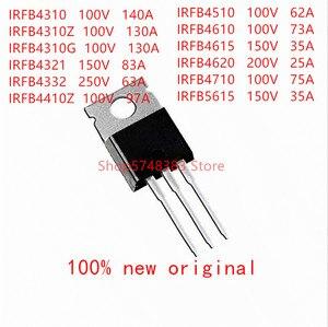 10 шт. /лот IRFB4310 IRFB4310Z IRFB4310G IRFB4321 IRFB4332 IRFB4410Z IRFB4510 IRFB4610 IRFB4615 IRFB4620 IRFB4710 IRFB4510 IRFB4615-56220