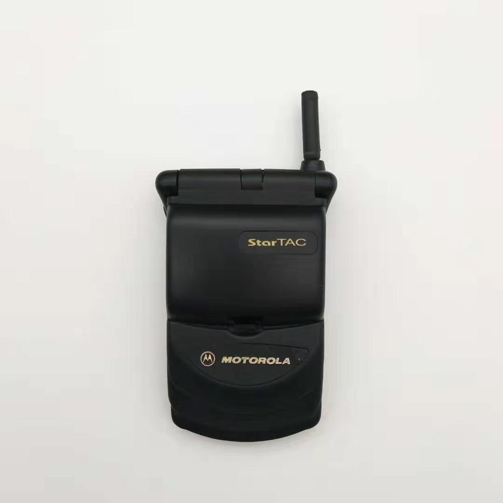 Hot Sale Old Fashion Original Unlocked Motorola StarTAC Rainbow Flip GSM Mobile Phone With Multi-language Free Shipping