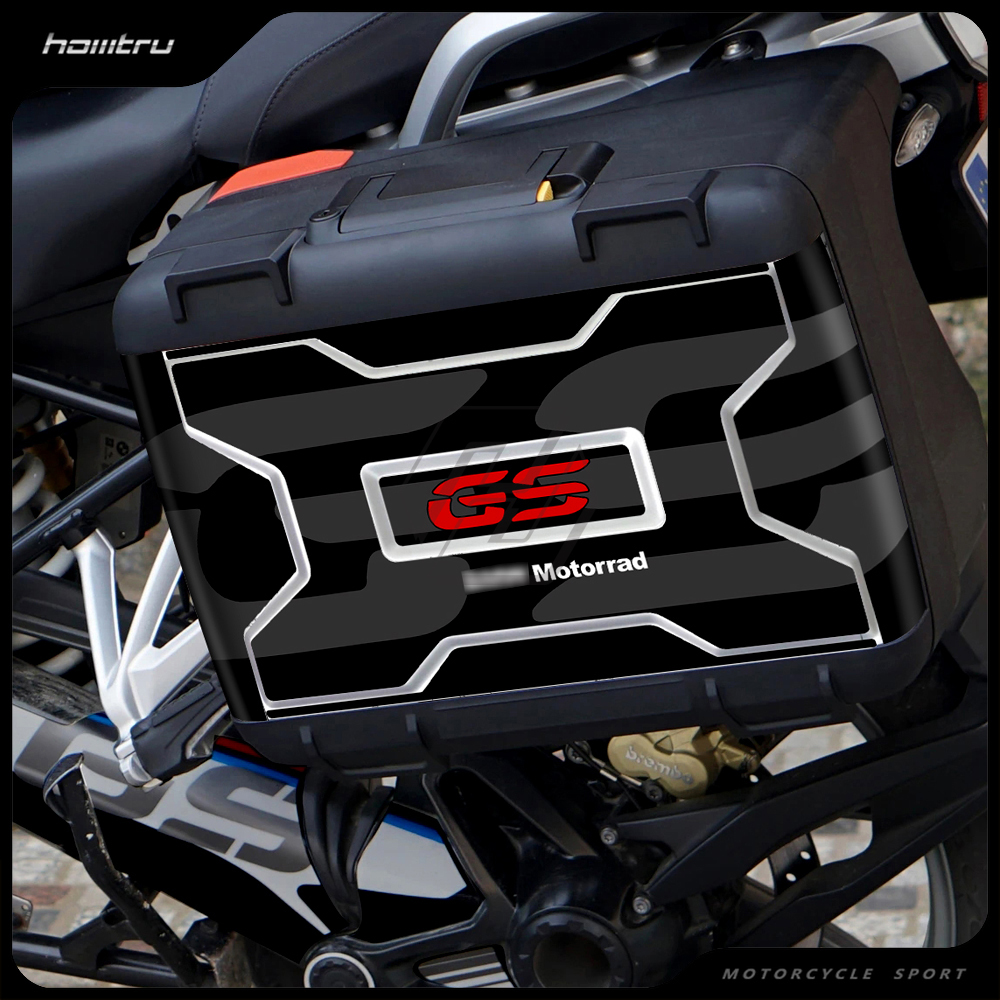Motorcycle Toolbox Sticker Fits for BMW Vario Case R1200GS R1250GS F800GS F850GS Sticker Easy Remove